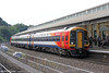 159021 calls at Bath forming 1O60, 1551 Bristol Temple Meads to London Waterloo on 7th September 2013.