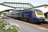 43139 'Driver Stan Martin' calls at Llanelli with 1L52, 0935 Carmarthen to London Paddington on 29th June 2013.