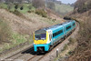 175111 passes Llanfihangel forming 1V77, 0930 Manchester Piccadilly to Carmarthen 20th April 2013.