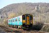 150235 at Gelynis with 2F62, 1617 Treherbert to Cardiff Central on 6th April 2013.