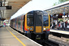 450005 waits to depart from Basingstoke forming 2L40, 1224 to London Waterloo on 8th June 2013.