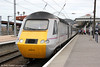 43315 waits to leave York with 1Y88, 1601 to London Kings Cross on 3rd July 2013.