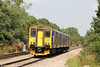 150266 passes Haresfield forming 2O90, 1250 Great Malvern to Weymouth on 26th August 2013.