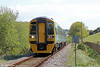 158837 at Llandre forming 1K55, 1530 Aberystwyth to Crewe on 25th May 2013.
