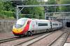 VWC 390135 with 1Z54, 1303 Carlisle to Edinburgh at Edinburgh Waverley on 12th July 2013.