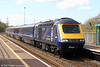 Diamond Jubilee liveried 43186 passes Briton Ferry with 1B10, 0745 London Paddington to Swansea on 27th April 2013.