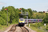 43197 approaches Worcester Foregate Street with 1W02 1021 London Paddington to Hereford on 1st June 2013.