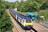 Hewlett Packard liveried 43186 passes Llansamlet with 1B46, 1445 London Paddington to Swansea on 19th June 2013.