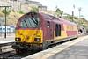 67008 stabled at Edinburgh Waverley on 12th July 2013.