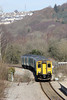 150278 approaches Newbridge with 2F38, 1340 Ebbw Vale Parkway to Cardiff Central on 6th April 2013.