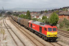 60054 passes East Usk with 6H25, 1030 Margam to Llanwern on 10th May 2013.