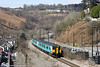 150237 is seen at Llanhilleth with 2F26, 1140 Ebbw Vale Parkway to Cardiff Central on 6th April 2013. The wide trackbed is an indication of the former industrial significance of the Ebbw Valley with its collieries and steelworks, all now gone.