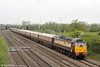 47790 'Galloway Princess' passes Coedkernew with 1Z55, 0712 Swansea to Chester, 'The Northern Belle' on 10th May 2013.
