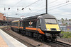 GC 43423 'Valenta 1972-2010' departs from York with 1N94, 1650 London Kings Cross to Sunderland on 3rd July 2013.