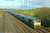 DRS 66432 passes Duffryn with 4V38, 0945 Daventry to Wentloog on 22nd December 2013.