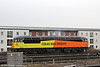 A second view Colas 56105 stabled at Cardiff Central on 9th April 2013.
