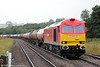 60062 'Stainless Pioneer' passes Llangennech with 6B13, 0507 Robeston to Westerleigh on 29th July 2013.