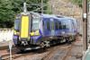 380108 arrives at Edinburgh Waverley forming 2Y05, 1427 North Berwick to Edinburgh on 12th July 2013.