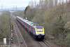 43143 'Stroud 700' passes Baglan with 1L62, 1228 Swansea to London Paddington on 13th April 2013.