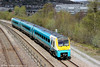 175101 passes Landore forming 1V77, 0930 Manchester Piccadilly to Carmarthen on 27th April 2013.