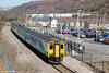 150278 departs from Newbridge with 2F38, 1340 Ebbw Vale Parkway to Cardiff Central on 6th April 2013.