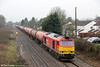 60007 'The Spirit of Tom Kendell' passes Portskewett with 6B13, 0507 Robeston to Westerleigh on 23rd March 2013.