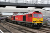 60020 with 66112 passes through Newport with 6V75, 0930 Dee Marsh to Margam (via Llanwern) on 15th March 2013.
