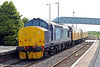 37405 propels 3Z34, 0110 Bristol Kingsland Road to Swansea via Milford Haven through Llanelli on 29th June 2013.