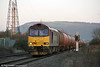 60065 'Spirit of Jaguar' passes Margam with 6B13, 0507 Robeston to Westerleigh on 11th January 2013.