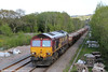 66175 is seen at Gowerton with 6W04, 1235 Hinksey Yard to Dynevor Junction via Llandeilo Junction on 18th May 2013.