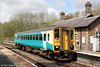 153353 calls at Llanwrtyd Wells forming 2M51, 0809 Cardiff Central to Shrewsbury on 18th May 2013.