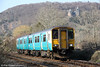150257 is seen at Gelynis with 2Y71, 1622 Aberdare to Barry Island on 6th April 2013.
