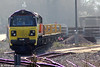 Colas Rail's brand new 70804 (with 70805 tucked in behind) stabled at Westbury on 8th March 2014.