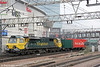 70015 passes Stratford with 4M88, 0930 Felixstowe to Crewe Basford Hall on  31st January 2014.