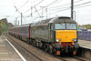 57604 'Pendennis Castle' Passes Acton Main Line with  2Z58, the 1119 Greenford circular on 18th October 2014.