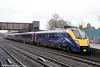 180106 calls at Oxford forming 1W29, 1120 London Paddington to Great Malvern on 29th January 2014.