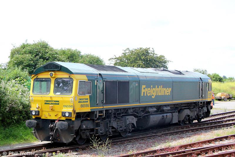 66598 at Taunton, Fairwater Yard on 14th June 2014.