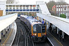 450039 calls at Staines forming 2S33, 1222 London Waterloo to Weybridge on 16th January 2014.