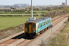150260 passes St. Athan forming 2E08, 1138 Merthyr Tydfil to Bridgend on 13th April 2014.