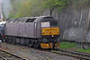 47245 now at the rear of 5Z80, 0552 Southall to Bristol St. Philips Marsh at Bristol West on 26th April 2014.