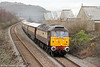 47790 'Galloway Princess' passes Melincryddan with 1Z59, 1500 Fishguard Harbour to Cardiff Central, 'Northern Belle' on 1st March 2014.