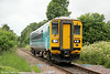 153362 at Penybont forming 2M57, 1312 Swansea to Shrewsbury on 12th July 2014.