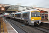 168004 in Chiltern's new Mainline livery calls at Banbury forming 1G45, 1445 London Marylebone to Birmingham Snow Hill on 29th January 2014.