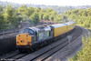 37604 trails 1Q13, 1846 Landore TMD to Crewe via Aberdare out of Swansea on 20th June 2014.