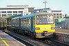 Reliveried 143608 at Cardiff Central forming 2C39, 1604  Radyr to Coryton on 18th February 2014.