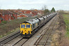 66523 at Ashchurch with 4V06, 0852 Rugeley Power Station to Stoke Gifford on 27th January 2014.