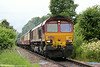 66133 at Penybont with Pathfinders 1Z26, 1635 Llandrindod Wells to Banbury, 'The Heart of Wales Rambler' on 12th July 2014.