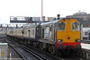 On Saturday 8th February 2014, Pathfinder Tours ran 'The Buffer Puffer 11.1' railtour which commenced at Stafford and visited selected lines around London. 20304 leads 1Z58, 1026 Blackfriars to Cannon Street into London Bridge.