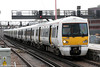 SE 376030 calls at London Bridge forming 2B45,  1115 Slade Green to London Cannon Street on 8th February 2014.