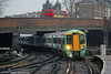 377614 at Clapham Junction forming 2P45, 1426 Caterham to London Victoria on 16th January 2014.